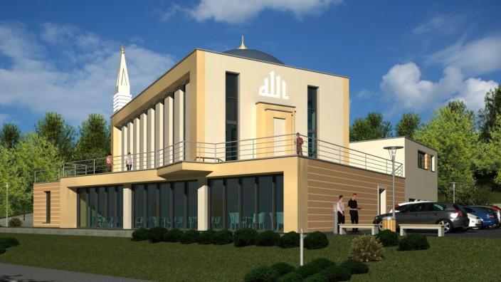 Pfaffenhofen an der Ilm: Die neue Moschee in Pfaffenhofen wird am Samstag eröffnet. Zuvor hat es Morddrohungen gegen den Bürgermeister gegeben.