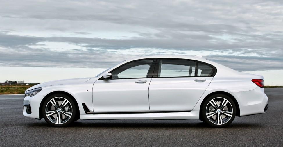 Der BMW 7er Modell 2015