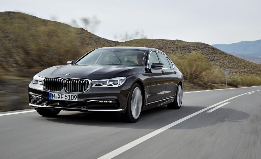 Der BMW 7er Modell 2015.
