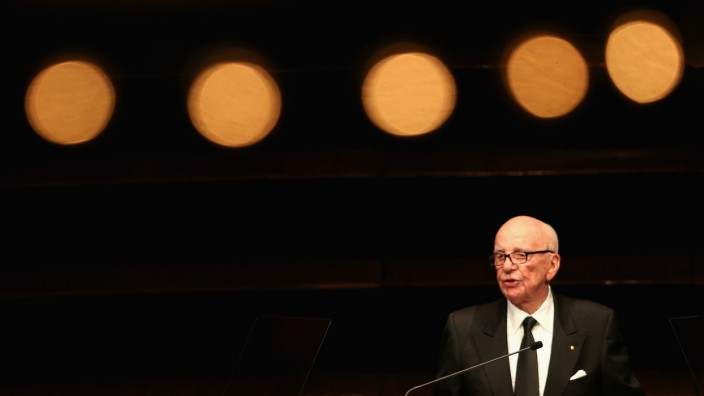 FILE: Rupert Murdoch Stepping Down Rupert Murdoch Delivers Lowy Lecture