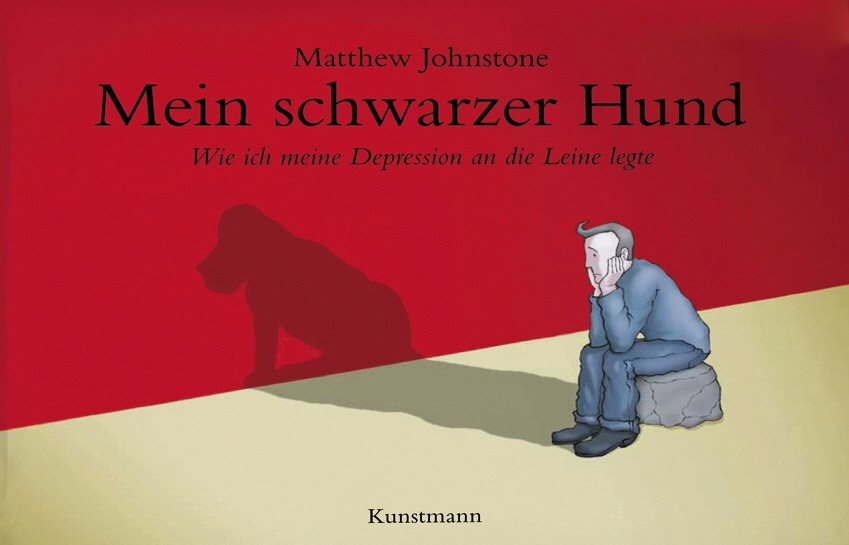 Buchcover: Matthew Johnstone: Mein schwarzer Hund