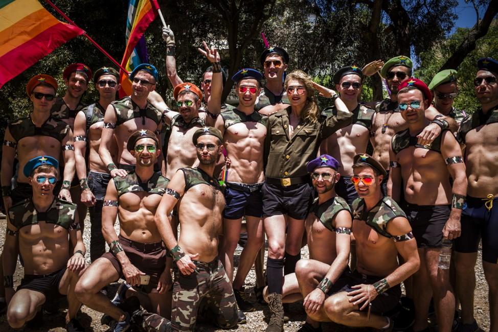 *** BESTPIX *** Israel Holds Its Annual Gay Pride Parade In Tel Aviv