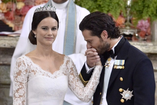 Religious ceremony - Wedding of Prince Carl Philip of Sweden and