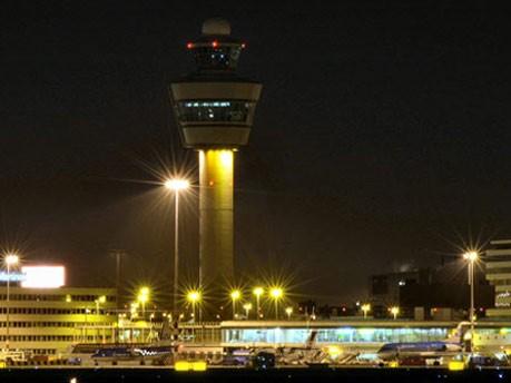 Flughafen Amsterdam, Pixelio
