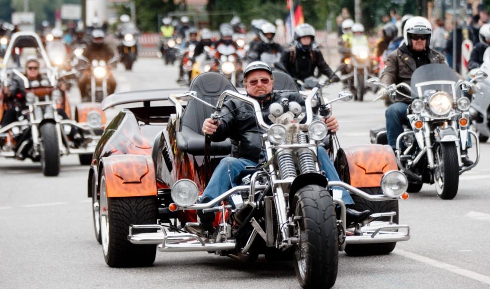 Motorradgottesdienst in Hamburg
