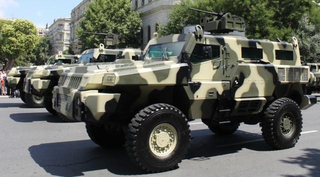 Der Marauder, ein gepanzertes SUV aus Südafrika