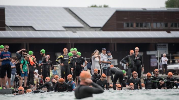 Langstreckenschwimmen in Oberschleißheim, 2015