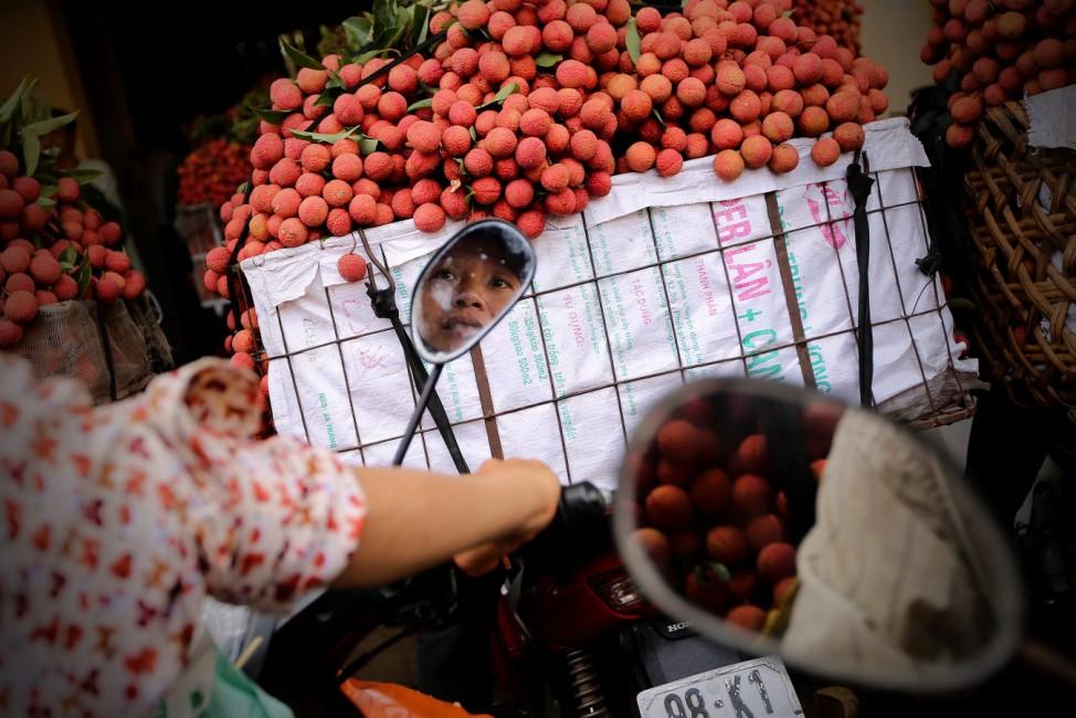 Vietnam exports lychee