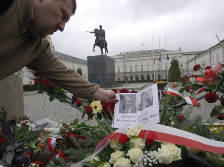 Lech Kaczynski Polen Trauer