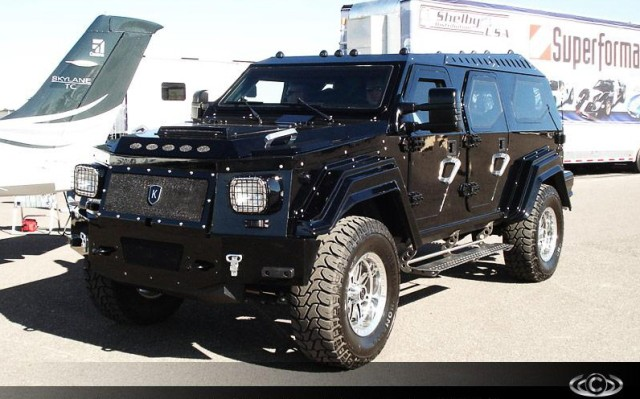 Der Knight XV von Conquest Vehicles.