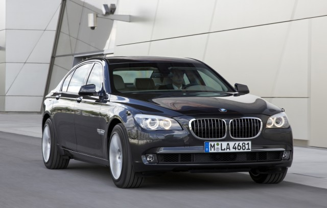 Der BMW 7er High Security.