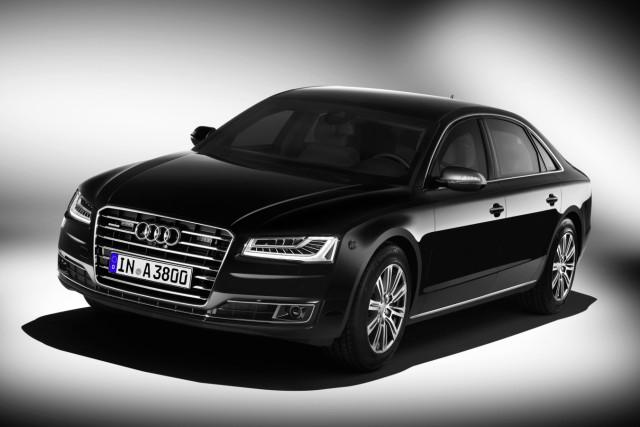 Der Audi A8 L Security.