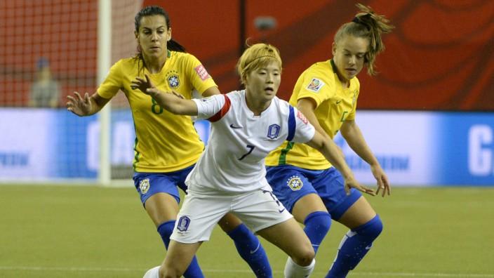 Soccer: Women's World Cup-Brazil at Korea Republic