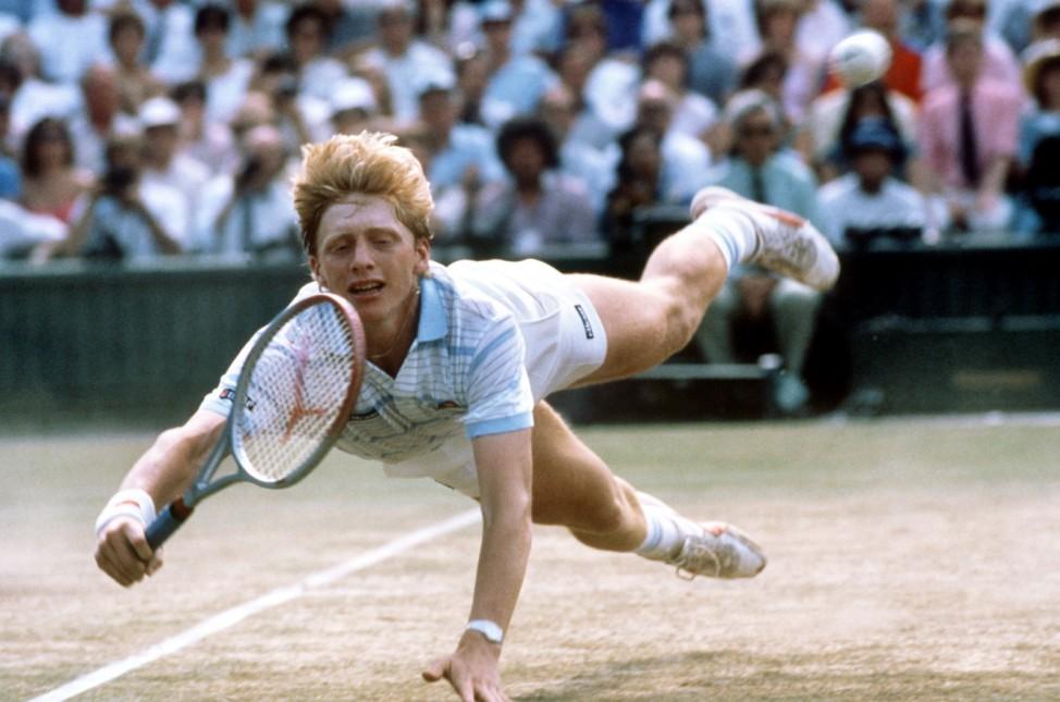 Wimbledon 1985 - Boris Becker