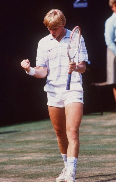 TENNIS: WIMBLEDON 1985, 07.07.85