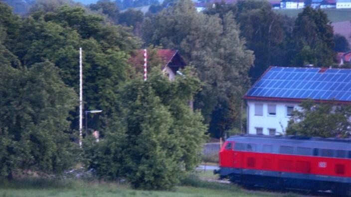 Bahnübergang Wasentegernbach