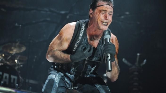 Tim Lindemann, Rammstein in München, 2009