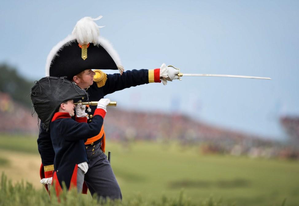 Bicentennial celebrations of Battle of Waterloo