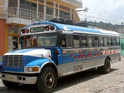 Überlandbus in Mexiko, Jacobi