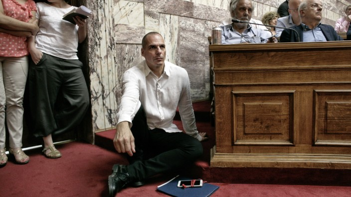 Greek Prime Minister Consults With His Party As Greece Edges Nearer To Bankruptcy