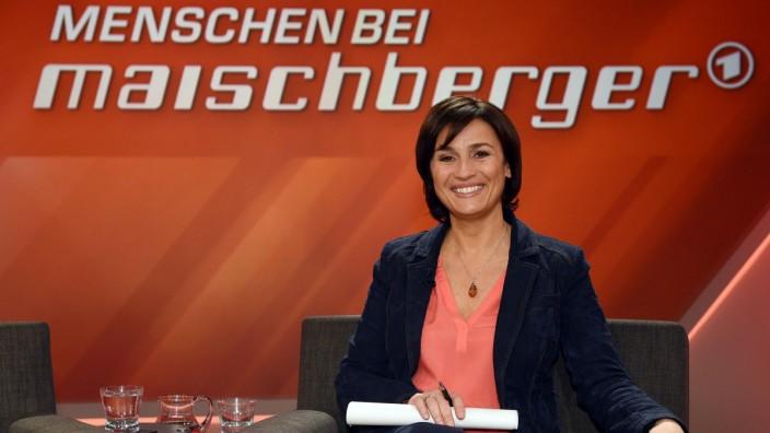 'Menschen bei Maischberger' Sandra Maischberger