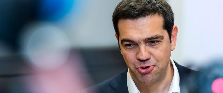 Drohender Grexit: Alexis Tsipras gab sich während des Sondergipfels in Brüssel zuversichtlich.