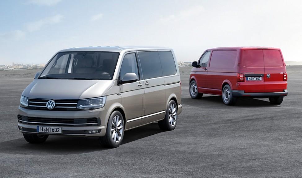 Der neue VW T6 als Multivan und Transporter.