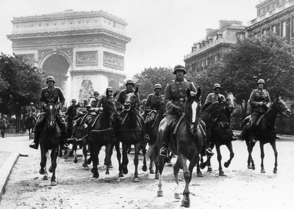 Deutsche Soldaten in Paris, 1940