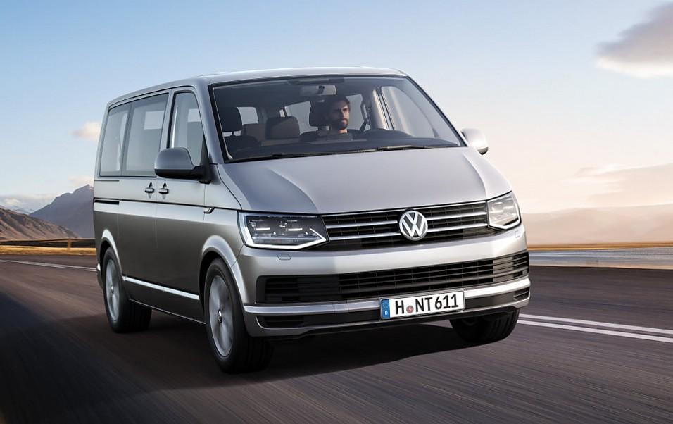 Der neue VW T6 Multivan.