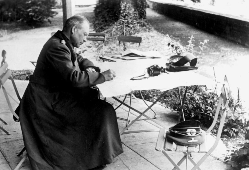 Heinz Guderian während des Frankreichfeldzuges, 1940