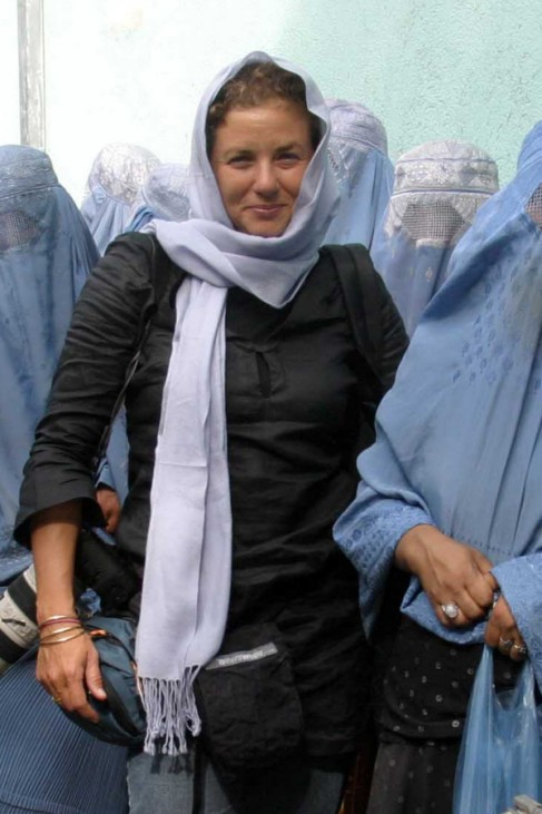 Heidi Levine in Kabul