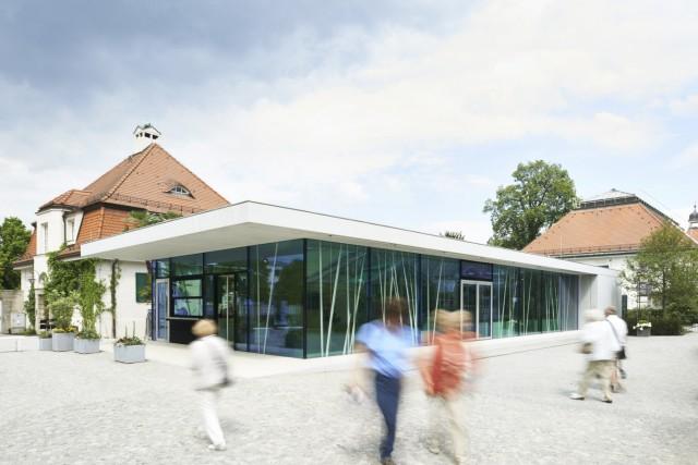 Architektouren 2015 - Projekt 2, Neues Eingangsgebäude Botanischer Garten München, München-Nymphenburg