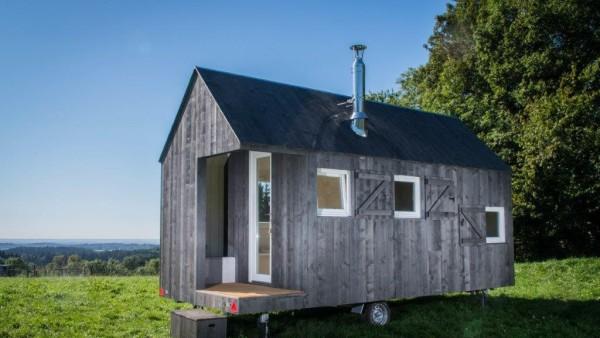 Architektouren 2015 - Projekt 140, HYT - mobiles Scheunenhäuschen, Bernried