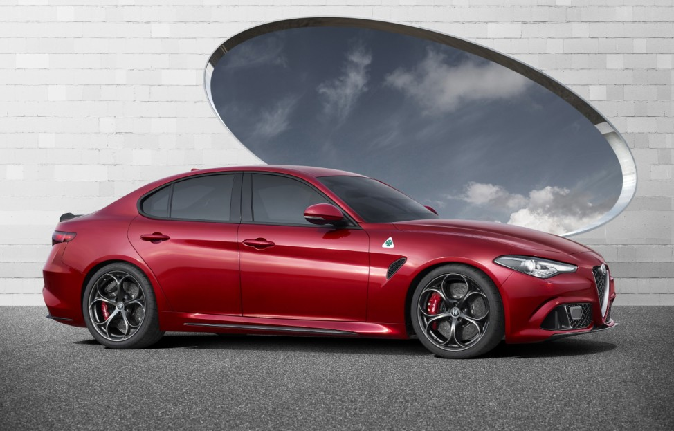 Die neue Alfa Romeo Giulia.