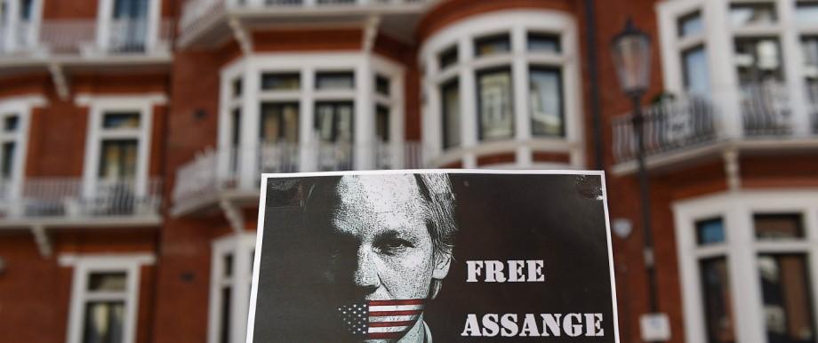 Julian Assange 3 years at the Ecuador Embassy
