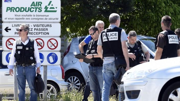 Terroranschlag bei Lyon