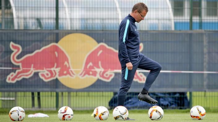 Rangnick trainiert erstmals RB Leipzig