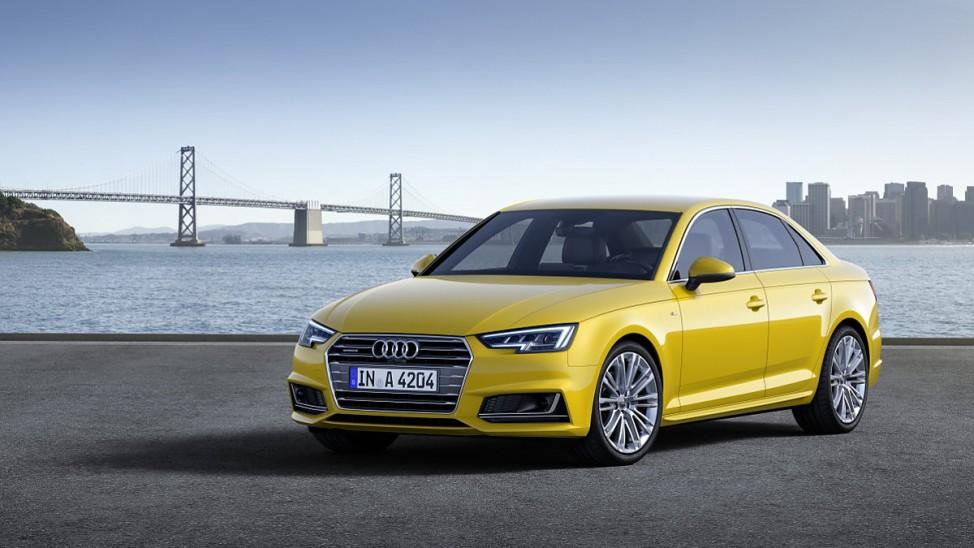 Audi A4 aus dem Modelljahr 2015