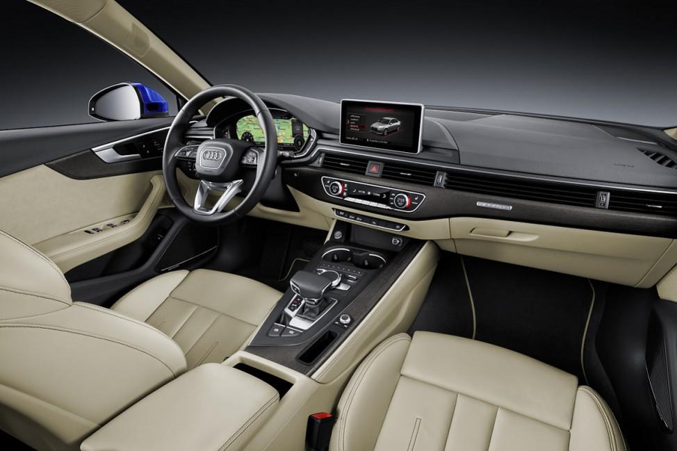 Innenraum des Audi A4