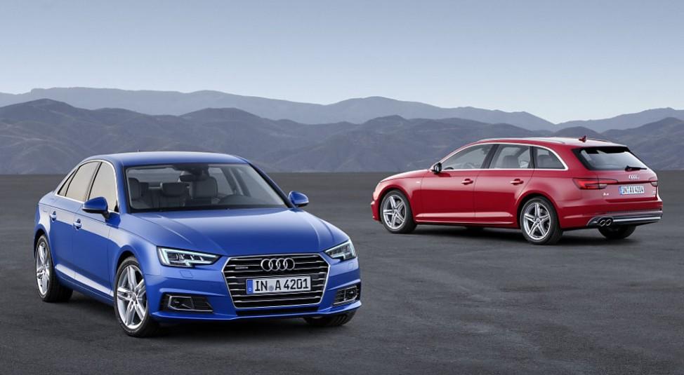 Audi A4 und A4 Avant aus dem Modelljahr 2015
