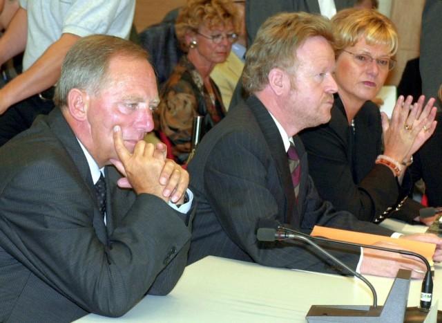 Untersuchungsausschuss Schäuble und Baumeister