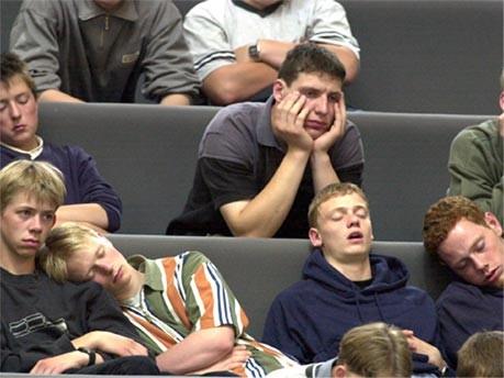 Schlafen Bundestag