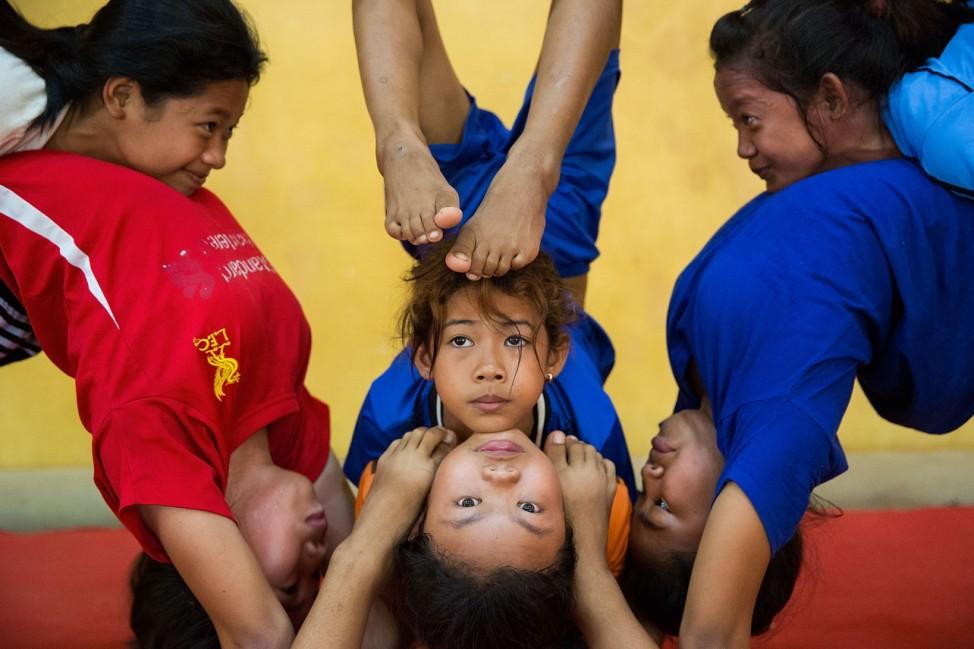 *** BESTPIX *** Battambang Circus Gives Opportunity To Underprivileged Children In Cambodia