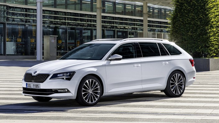 Der neue Škoda Superb Combi.