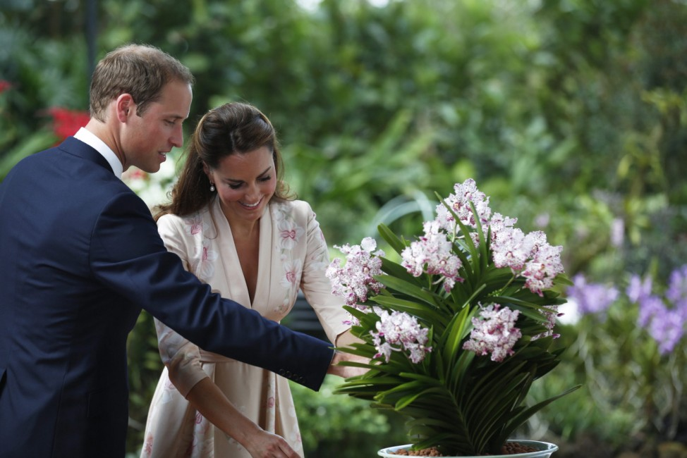 The Duke and Duchess of Cambridge in Singapore - Day One