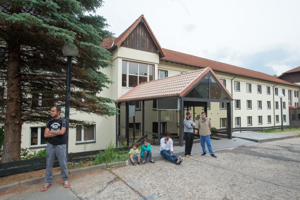 Flüchtlingsheim in Freital