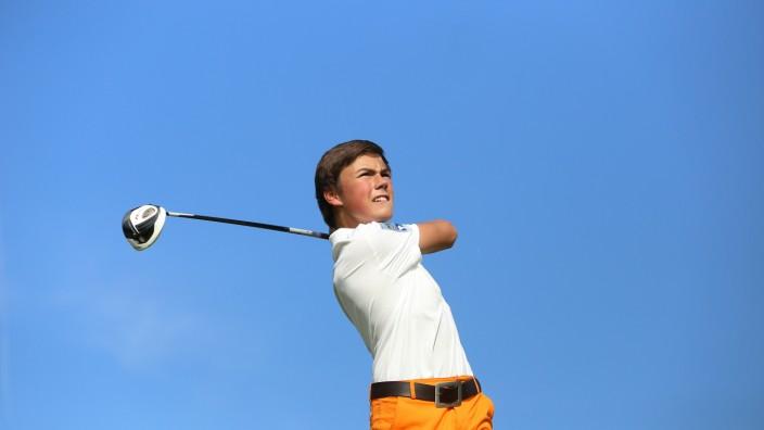 Golf für Behinderte: Zu den Handicap Stars gehört auch der 15-jährige Pascal. Er hat ein Handicap von 16,7