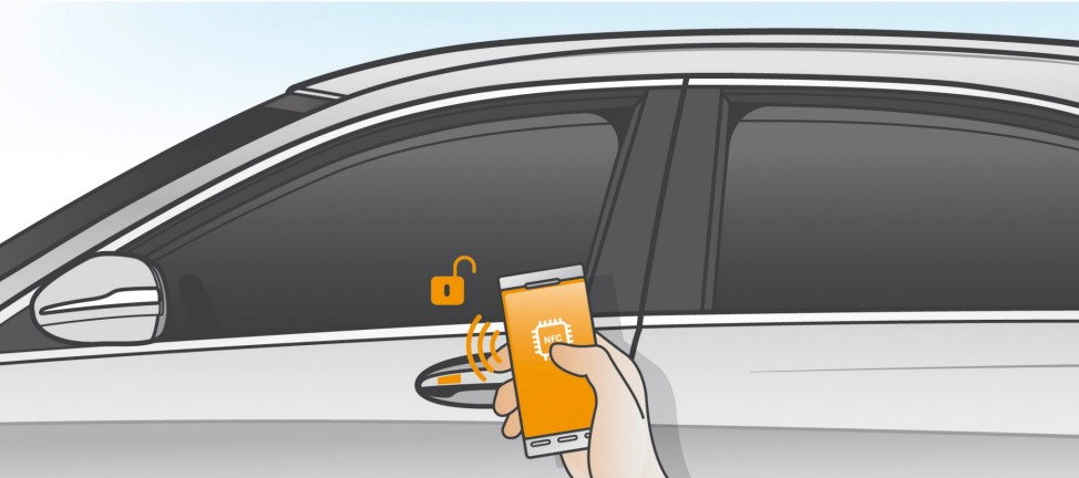 Mercedes E-Klasse 2016: digitaler Autoschlüssel
