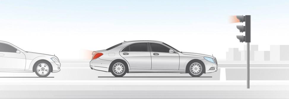 Mercedes E-Klasse 2016: Mehrpegelfunktionalität der Heckleuchten