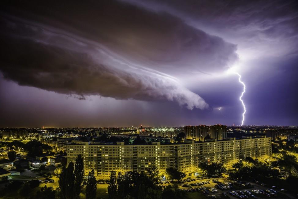 Storm over Poznan